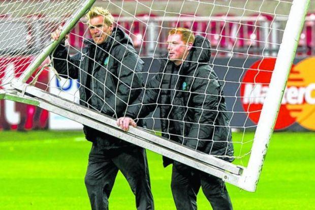 Johan Mjallby and Neil Lennon spent four successful years as a team at Celtic. Picture: SNS