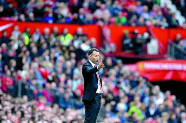 Ryan Giggs enjoyed a winning start to his stint as caretaker manager at Old TraffordPhotograph: Reuters