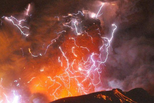 THREAT: A massive volcanic event could have a significant impact on the UK.