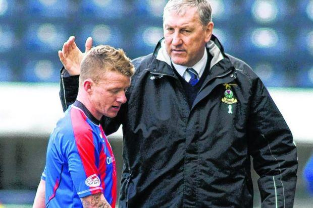 Jonny Hayes says that Terry Butcher was like a father figure to the players while they both were at Inverness. Picture: SNS