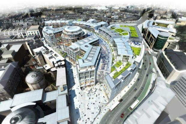 VISION: Glass will replace concrete in the new version of the St James Centre.