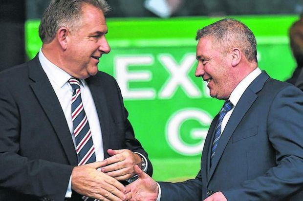 Ally McCoist is dismayed that Graham Wallace's report suggests redundancies are needed at Ibrox. Picture: SNS