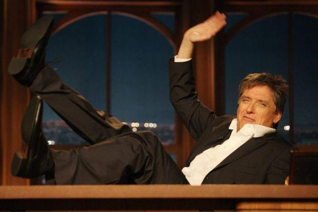 FAREWELL: Glasgow-born Craig Ferguson found fame and fortune after quitting the UK. He has hosted the Late Late Show for 10 years. Picture: Frederick M. Brown