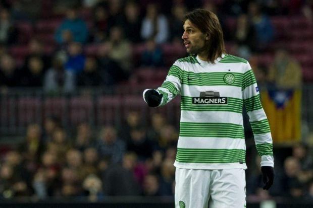 Georgios Samaras is proud of his 'connection' with Celtic. Picture: SNS