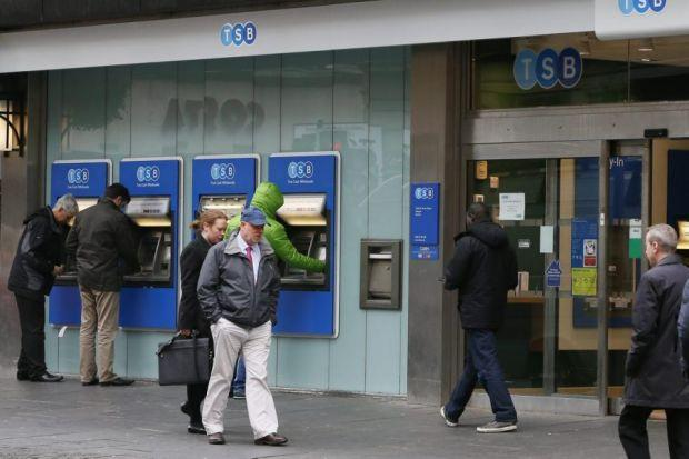 SALE: TSB is expected to be valued at around £1.5 billion when it is floated by Lloyds as part of bailout conditions.