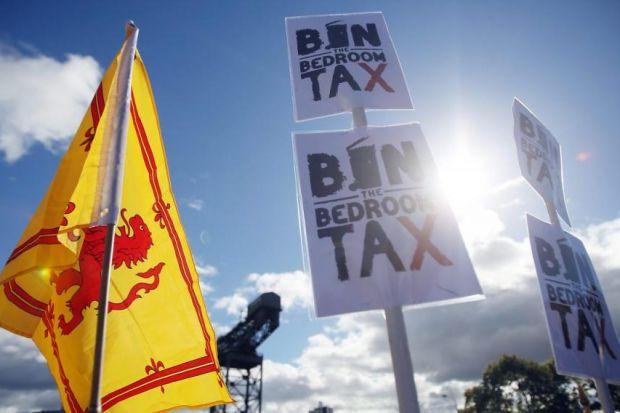 Bedroom tax could effectively be scrapped in Scotland as Holyrood is given new powers