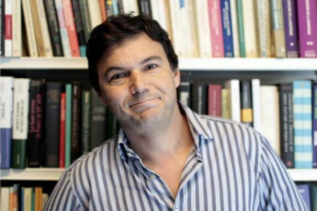 Thomas Piketty, whose critique of capitalism has become a best-seller