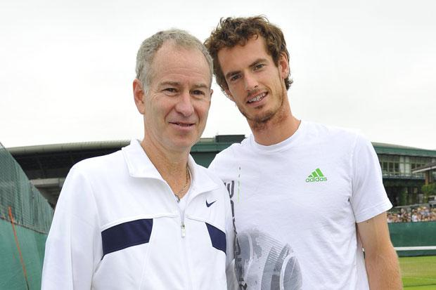 John McEnroe could be Andy Murray's new coach