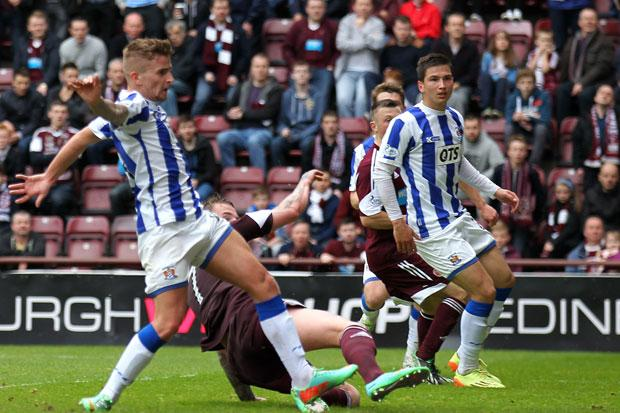 Hearts 5 Kilmarnock 0: Locke's future given boost as Jambos thrash Killie