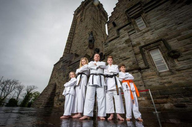 Karate bash to kick off in Stirling