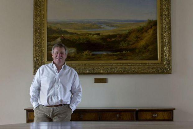 optimistic FOR THE FUTURE: Aberdeen Asset Management chief executive Martin Gilbert.