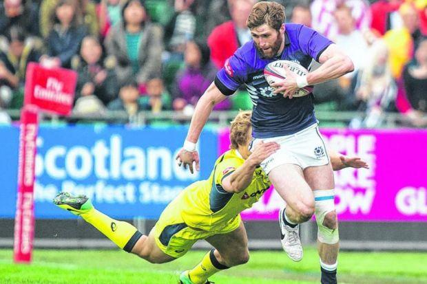 Richie Vernon excelled during the Glasgow 7s. Picture: SNS Group/ SRU