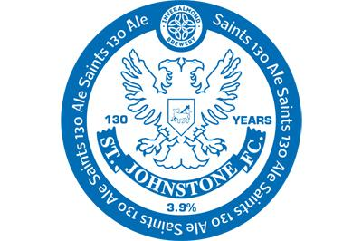 Oh when the Saints go marching in... to the bar: St Johnstone launches blue ale