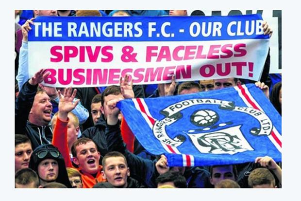 Spiers on Sport: dissenting Rangers fans, look east to Hearts