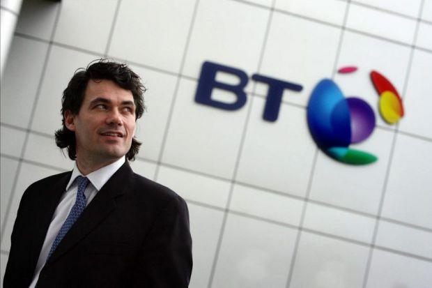 PLEDGE: BT chief executive Gavin Patterson says the company will continue to do business in Scotland whatever the referendum outcome.