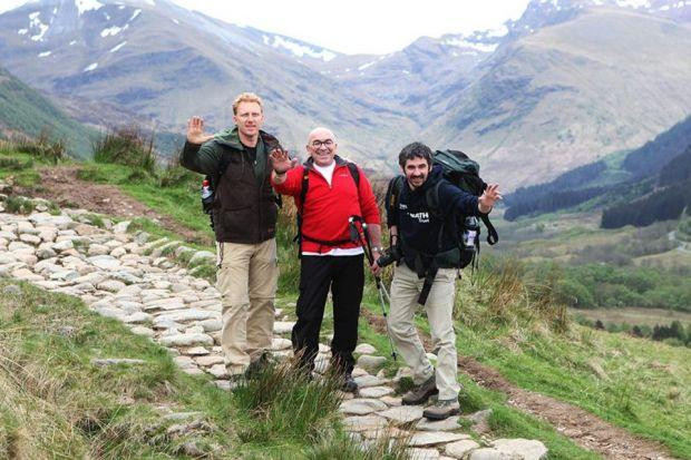 Scaling the peaks for charity