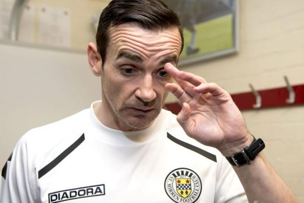 Danny Lennon has still to be offered a contract extension