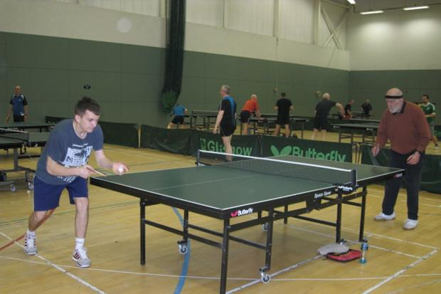 Age is just a number for table tennis players
