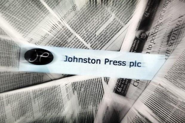 Publisher: Chief executive Ashely Highfield said the refinancing was another key milestone for Johnston Press.