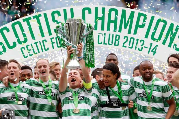Celtic 3 Dundee Utd 1: champion Hoops take home the trophy