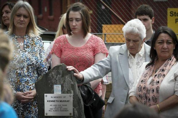 MOURNING: Victims were remembered 10 years after the tragedy.