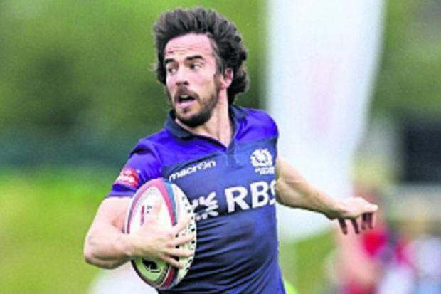 Colin Gregor is captain of a Scotland sevens side full of talent that handles better than most and leads passing statistics. Picture: SNS