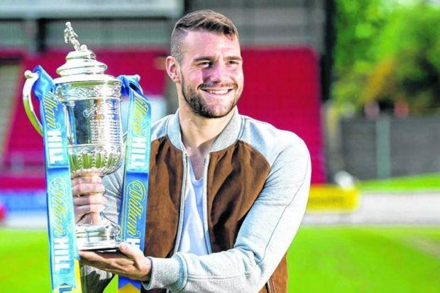 St Johnstone's James Dunne will hoping to get his hands back on the Scottish Cup after Saturday's final against Dundee United, a prospect he could not have imagined when he joined on loan. Picture: SNS