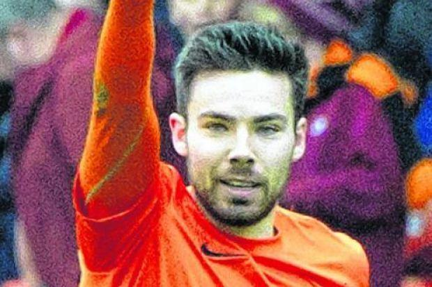 Ryan Dow says signing  a contract extension  at Dundee United was 'an easy decision'. Picture: SNS