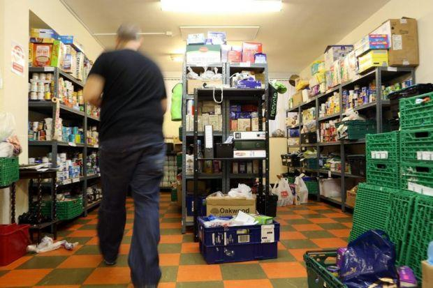 desperate MEASURES: Food bank volunteers have also dismissed the idea that take-up has been driven by supply, not demand. Picture: Mark Mainz