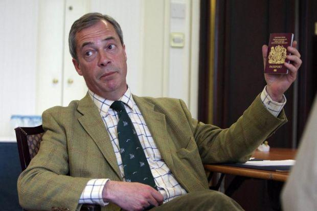 Farage is branded 'a racist' by Labour