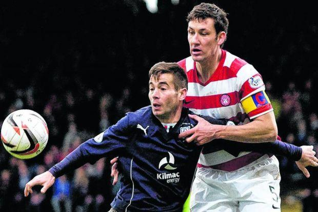 Hamilton were just pipped to the title by Dundee but Martin Canning still believes his side have a big chance of reaching the top flight. Picture: SNS