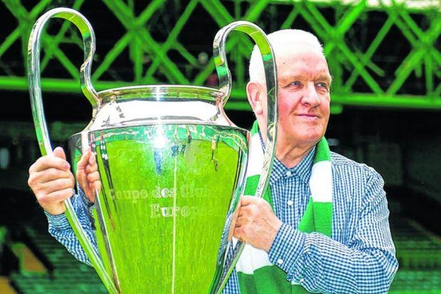 John Clark gets to grips with 'the thing with the big handles' ahead of the Lions' return to Lisbon. Picture: SNS