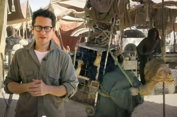 Video: Star Wars director JJ Abrams offers fans a part in film and a sneak peek on set