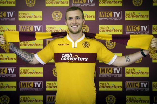 Josh Law trained with Motherwell several times last season