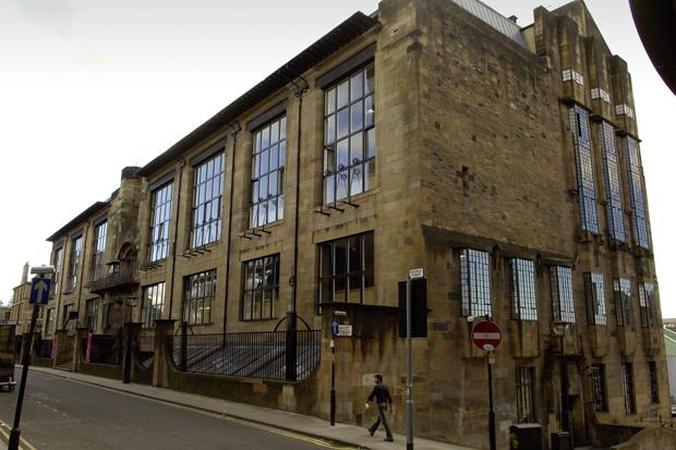 Glasgow School of Art: a history of the building and its famous students