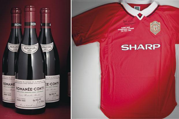 Going, going, gone: Sir Alex sells off wine for £2.2 million