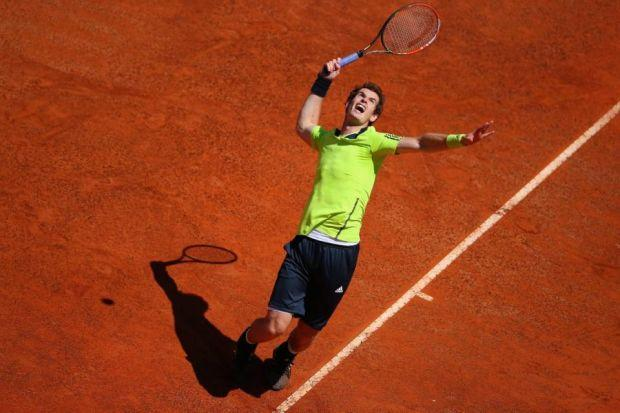Andy Murray has taken confidence from a good performance in Rome     Photograph: Getty