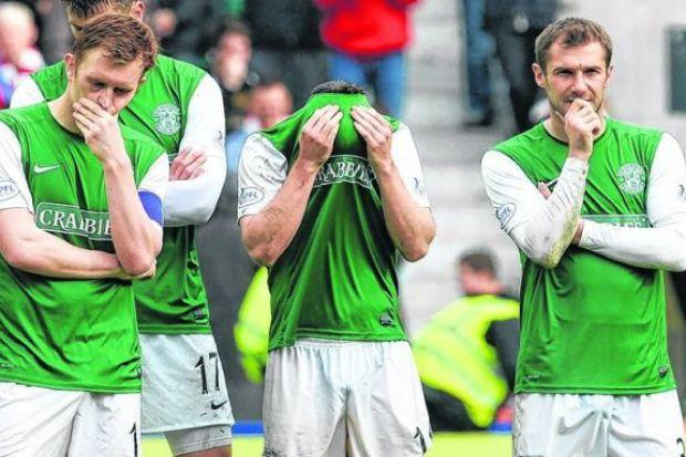 Hibs had the players to do better. Picture: SNS
