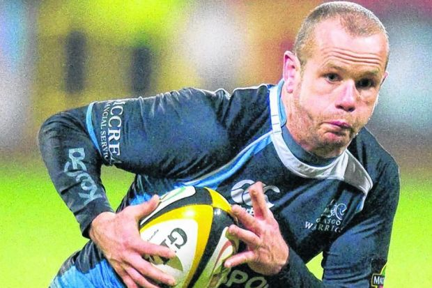 Former Glasgow Warriors winger Hefin O'Hare will be running all the way to Fort William for charity this weekend. Picture: SNSF