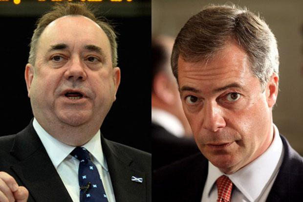 Salmond: I'd debate with Farage if he's welcomed into the No campaign