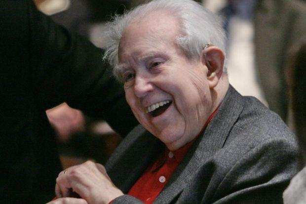 JOYFUL: Friends recall Elliott Carter as supportive, someone who was fun to be with and whose work was musically challenging. Picture: Bebeto Matthews