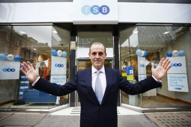 A FRESH START: TSB chief executive Peter Pester has plans to grow.