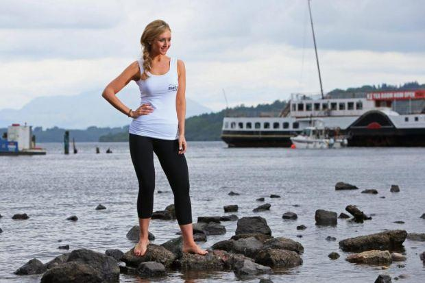 Corrie's Eva Price launches the Great Scottish Swim