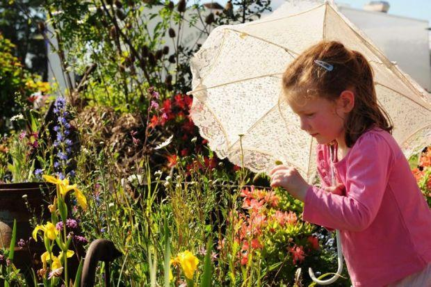 INSPIRING: People of all ages will enjoy Gardening Scotland 2014 at the Royal Highland Centre this weekend. Picture: Julie Howden