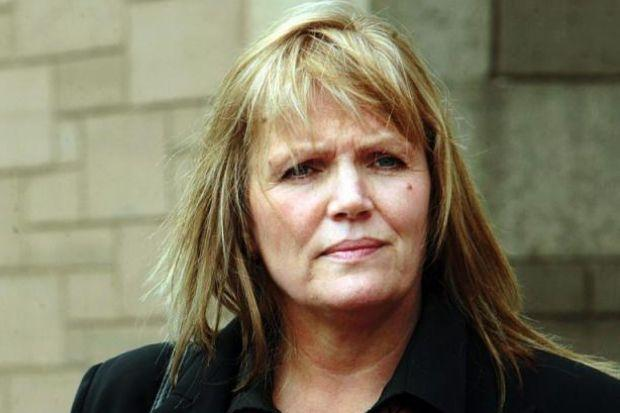 Ordeal: Gwen Louden was wrongly charged by colleagues.