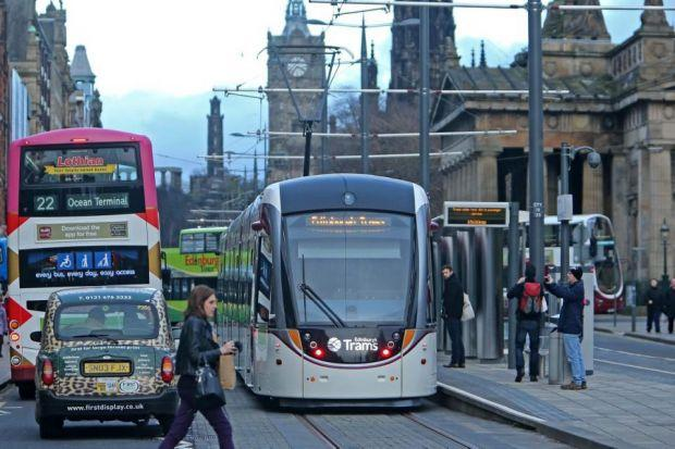 NEW SERVICE: Trams will run every 10 minutes in the city from tomorrow morning. Picture: Gordon Terris