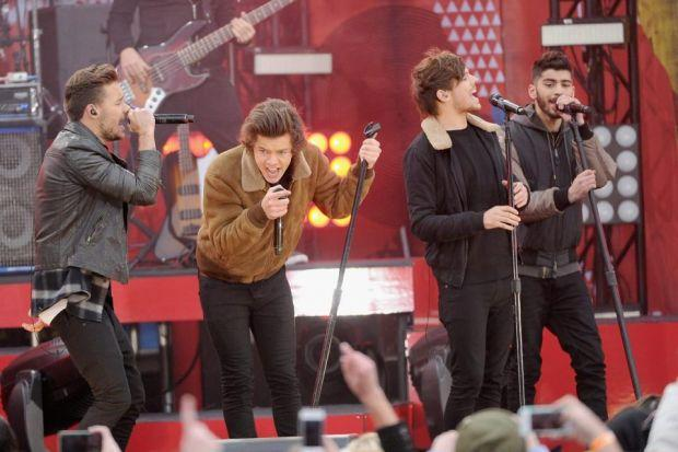 SUPERVISION: Under 16s will need to be with an adult to watch Liam Payne, Harry Styles, Louis Tomlinson and Zayn Malik. Picture: Getty Images
