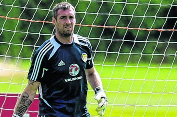 Allan McGregor trains before taking to  the field in Scotland's draw with Nigeria on Wednesday. Picture: SNS