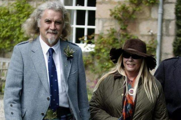 COUNTRY COUPLE: Billy Connolly and Pamela Stephenson have now sold the estate they bought 16 years ago.
