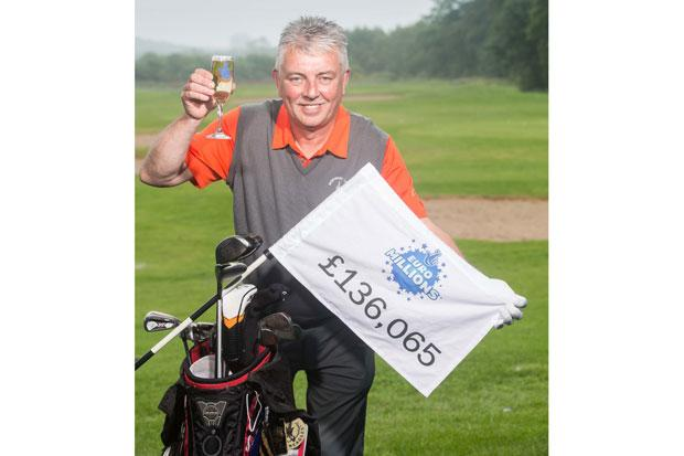 The perfect round: golf fan scoops six figure EuroMillions win
